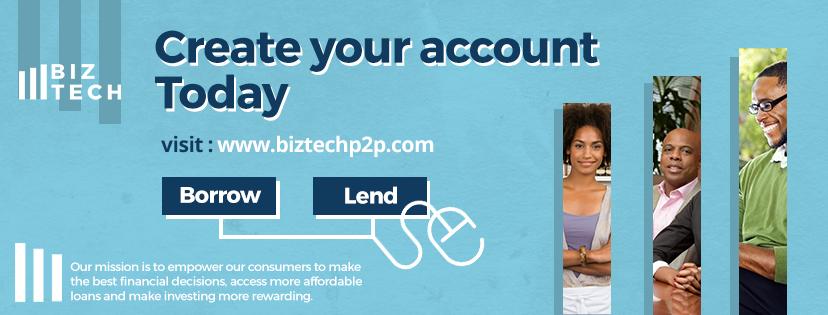 BIZTECH Peer-to-Peer Lending Website offer Loans