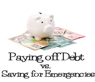 Which is First: Paying off debt or preparing an Emergency fund ?