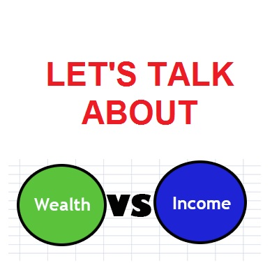 Why income and wealth are different ?