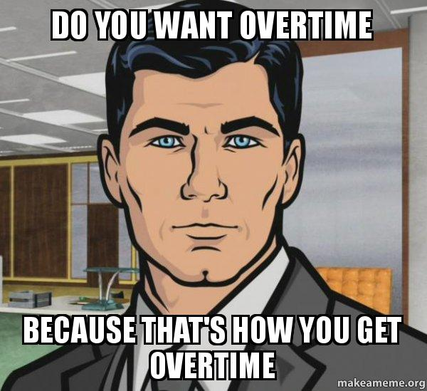 Do You Truly Need To Work Overtime?